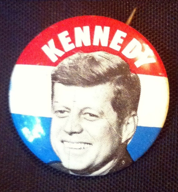 JFK Election Pin
