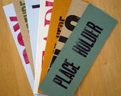 Pack of 7 Bookmarks