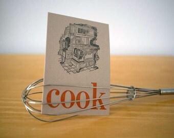 Kitchen Notecard
