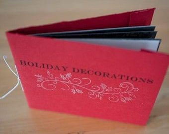 Holiday Decorations  Photo Zine