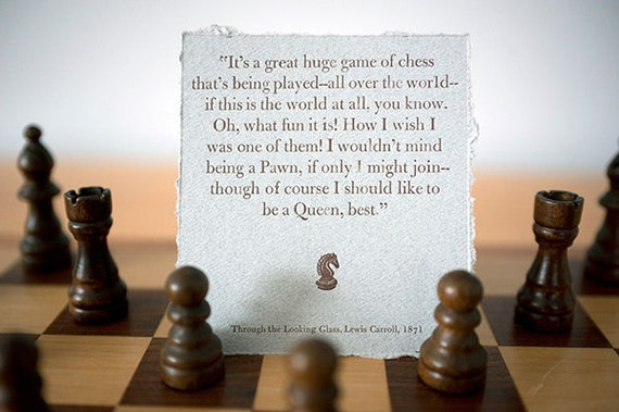 Through The Looking Glass Quotes Impressive Items Similar To Through The Looking Glass Quote Card On Etsy