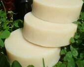 Spearmint-Eucalyptus ALL-NATURAL Soap & Shampoo, palm-free, vegan solid shampoo bar, mint soap