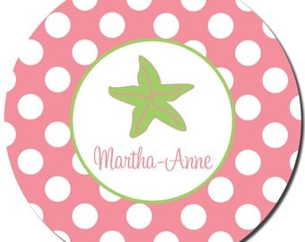 Personalized Children's Plate - Melamine can be monogrammed