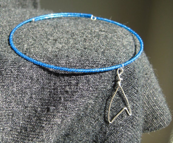 Star Trek beaded memory wire choker
