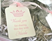 Printable Thank You Tags- Princess Party by Bloom
