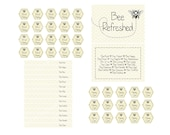 Baby Bee Party Kit by Bloom- Instant Dowload