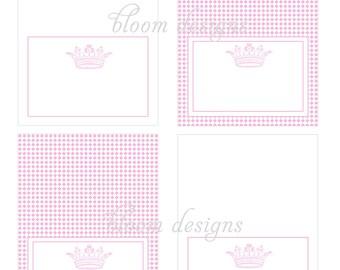 Printable Food Labels- Princess Party by Bloom
