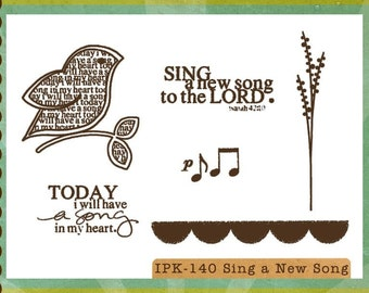 Sing a New Song Stamp Set