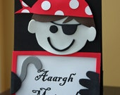 Pirate Party Centerpiece - Double Sided