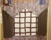 Medieval Castle Doorway Puppet Theater (Made to Order)