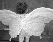 Color Your Own Wearable Flapable Soft Butterfly Fairy Wings  - Art Project and Costume