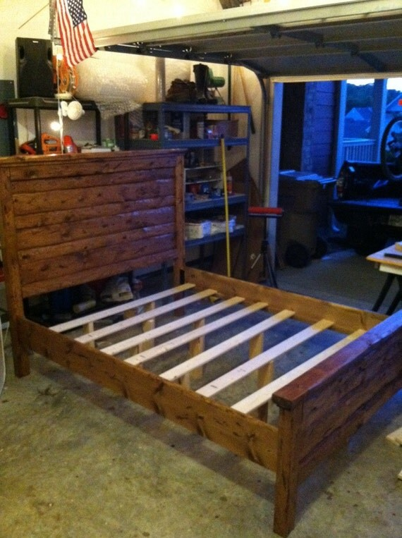 Bed Rails and Frame King or Queen