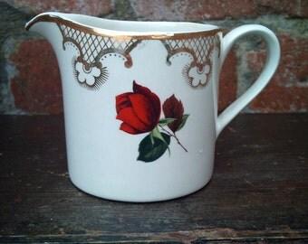 Red rose Milk/Cream Jug