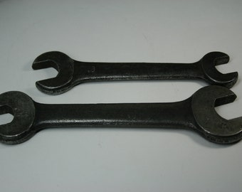 Wrenches- Lot of Vintage Auto Wrenches-2pc