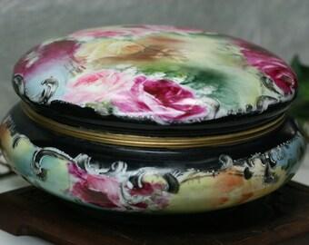 Antique Dresser Bowl-Limoges-M. Redon