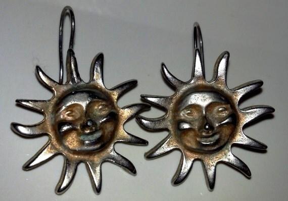Sun Earrings Made in America