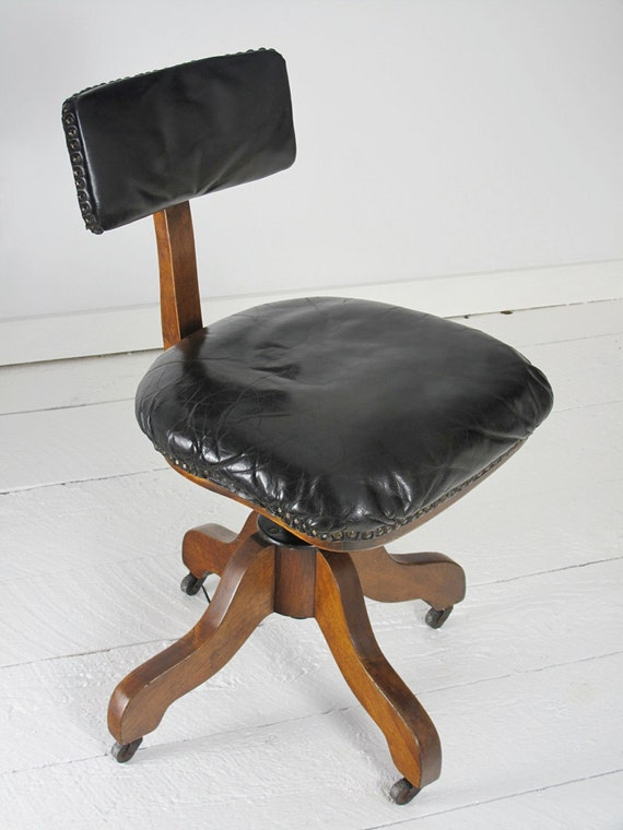 A Very Unique Antique Office Chair Made By By