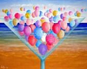 """Yeia Mas-original painting 16""""x20"""""""