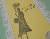 You Look Fabulous - Happy Pregnancy Card