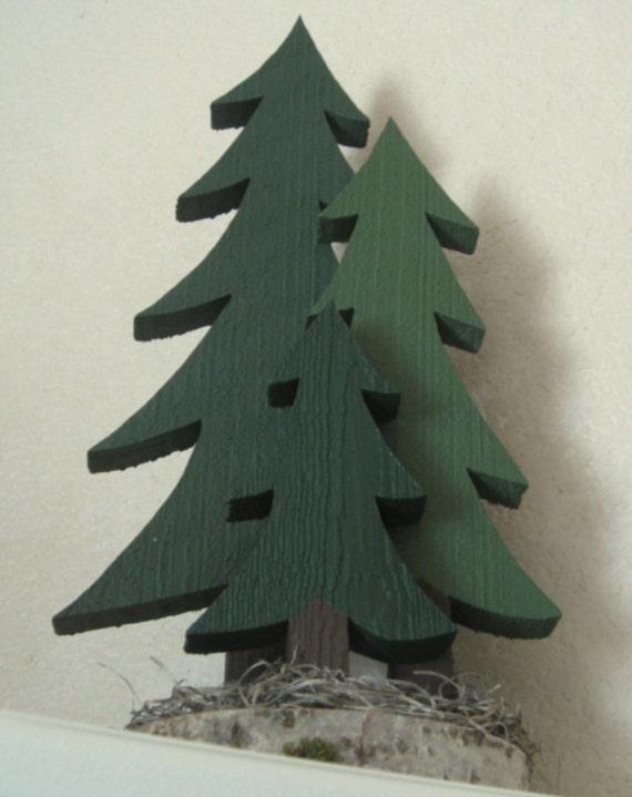 Pine Tree Cluster - Three Trees