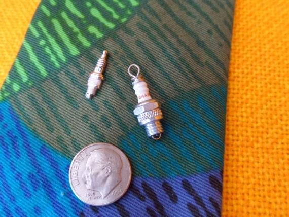 Spark Plug Tie Pin Lapel Pin And Charm Jc Champion Vintage