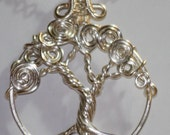 RESERVED for MICHELLE -Silver Enchanted Tree of Life customized for Mother's Day