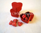 Mini Heart Candy Boxes - Pack of 3