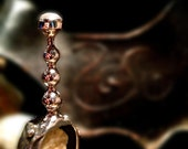 Wand Ring of Moonlight...OOAK handmade Sterling Silver ring of Legend set with Moonstone cabochon