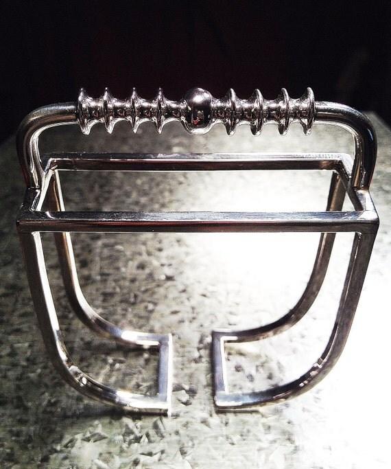 Metatron's Cube...OOAK Handmade Artisan Sterling Silver Angelic Bracelet of Legend