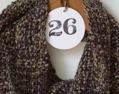 Scarf for Women - Gray, Brown, Egglplant - Free Shipping