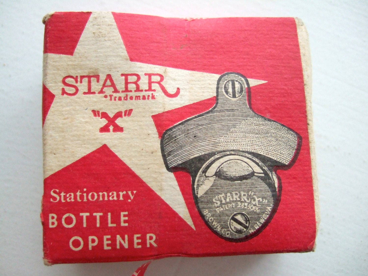 vintage starr x coca cola stationary bottle opener by bishopbrand. Black Bedroom Furniture Sets. Home Design Ideas