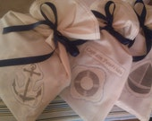 Custom Designed Fabric Gift Bags Parties, Gifts, Weddings, Events, Showers, Wine