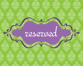 Reserved for Sulma...