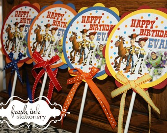 Toy Story Centerpiece or Cake Top
