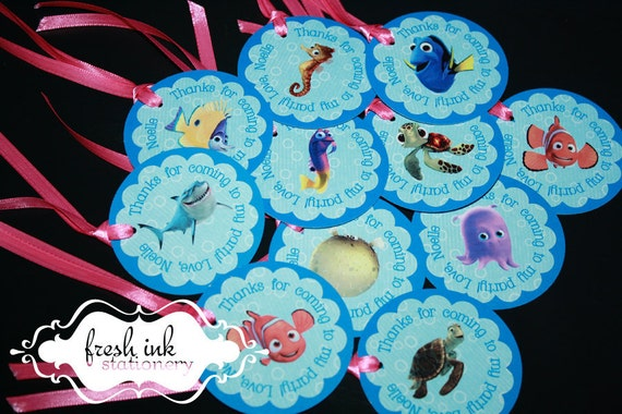 Finding Nemo Personalized Tags