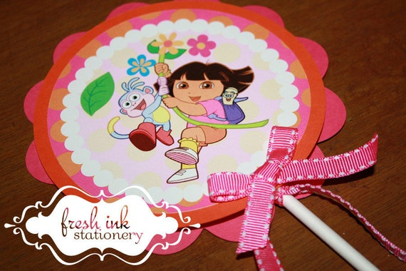Dora Centerpiece or Cake Top