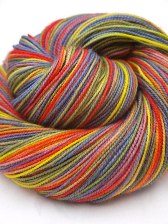 Bernie Botts Every Flavor Beans, 100%SW Merino, Fingering/Sock Yarn