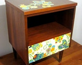 RESERVED Mid Century Night Stand