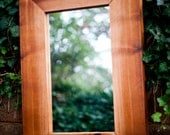 Reclaimed Cedar Framed Mirror