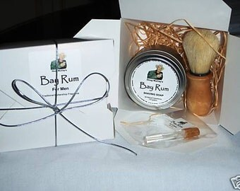 Doug Murray's BAY RUM Shaving Soap 250g (8.8oz) - GIFT Pack For Men