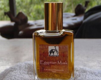 EGYPTIAN MUSK SUPERIOR Perfume Oil by Sukran -15ml - Lasts all day - strong focused precise musk fragrance