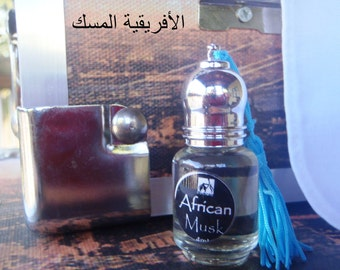AFRICAN MUSK (For Men) Perfume Oil Attar - 4 ml - Great clean musk fragrance warm and sensual