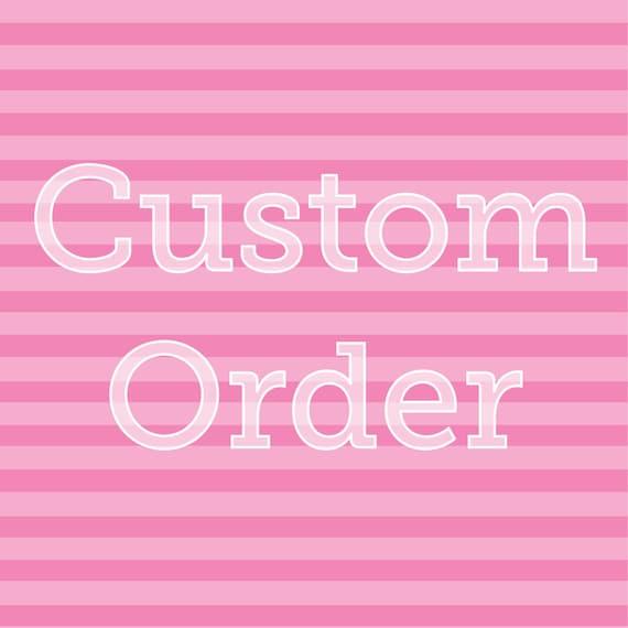 Custom Glitter Letters for Liz