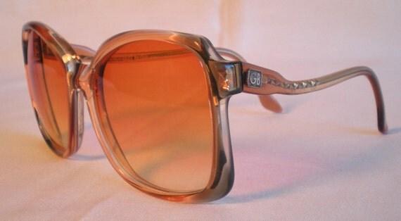 Vintage 1970s GEOFFREY BEENE Sun Glasses