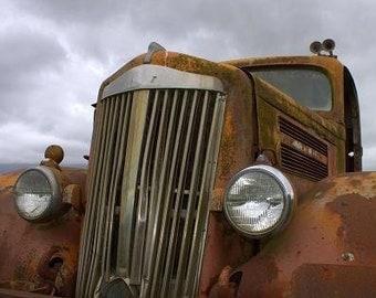 Old Truck  - 11 X 14 Print