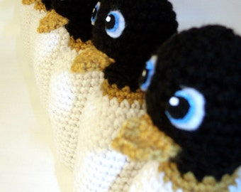 Penguin Toy Bowling Set - CROCHET PATTERN Instant Download