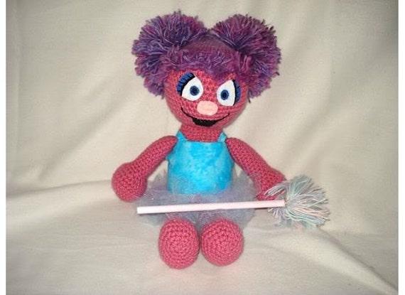 Abby Cadabby crochet doll