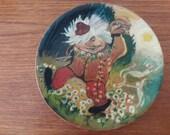 SALE Vintage Upsala Ekeby troll plate