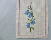 Vintage Swedish tablecloth / Embroidered table runner