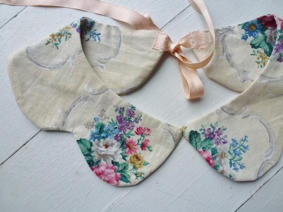 Peter Pan collar / Sanderson fabric